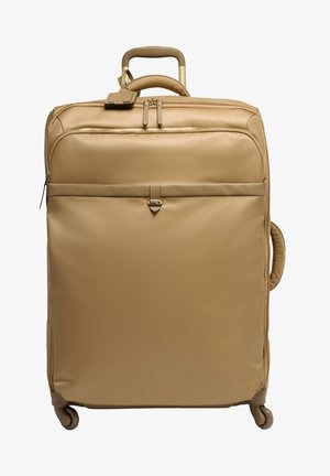 PLUME AVENUE TROLLEY MIT 4 ROLLEN - Luggage - camel