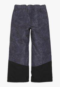 Ziener - AYULES JUNIOR - Snow pants - grey night - 1