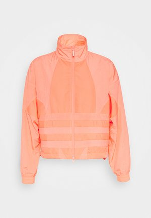 LOGO - Training jacket - orange