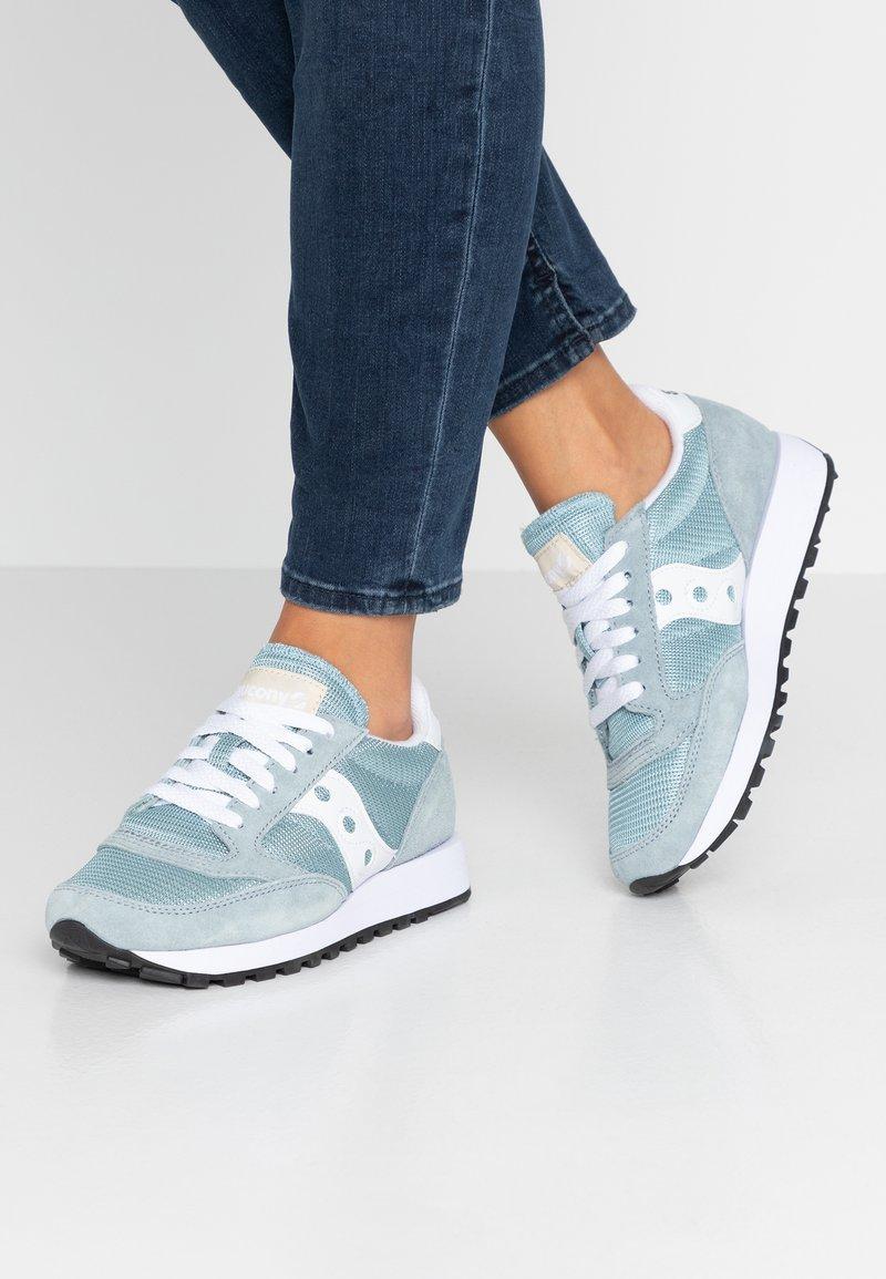 Saucony - JAZZ VINTAGE - Trainers - light blue/white