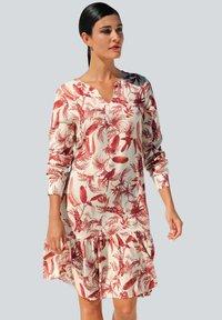 Alba Moda - Day dress - off white/rot - 2