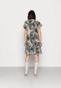Mos Mosh - TIKKA SHADE DRESS - Day dress - vintage indigo - 2