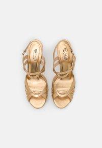 Minelli - Sandaalit nilkkaremmillä - platine - 5