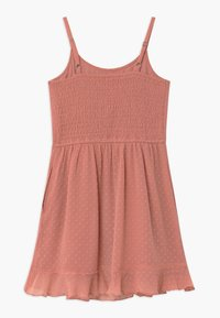 Abercrombie & Fitch - BARE WRAP RUFFLE - Day dress - ash rose - 1