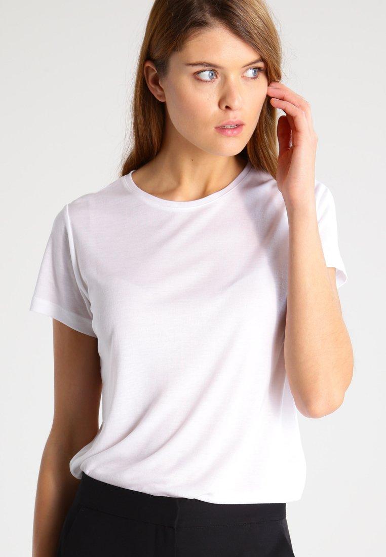 House of Dagmar - UPAMA - T-shirt basic - white