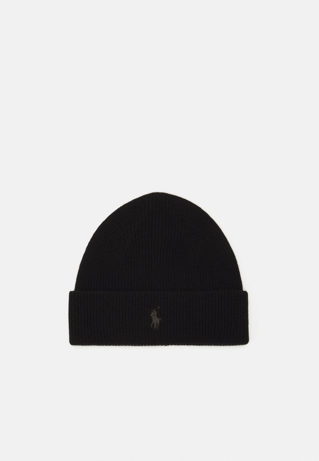 HAT - Beanie - polo black
