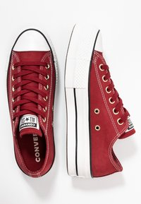 Converse - CHUCK TAYLOR ALL STAR LIFT - Joggesko - black alley brick/white/black - 3