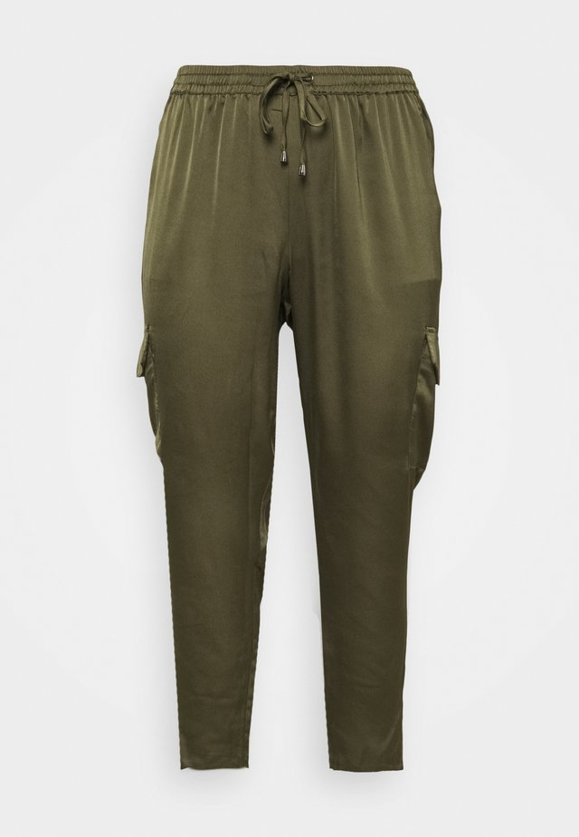 KCZENNA PANTS - Trousers - grape leaf