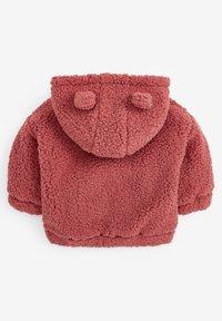 Next - FLEECE HOODY - Fleece jacket - pink - 1