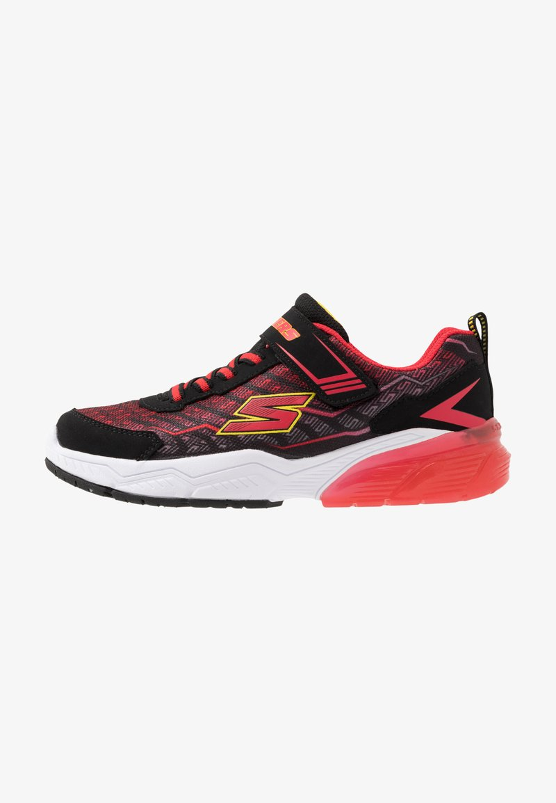 Skechers - THERMOFLUX 2.0 - Tenisky - black/red/lime