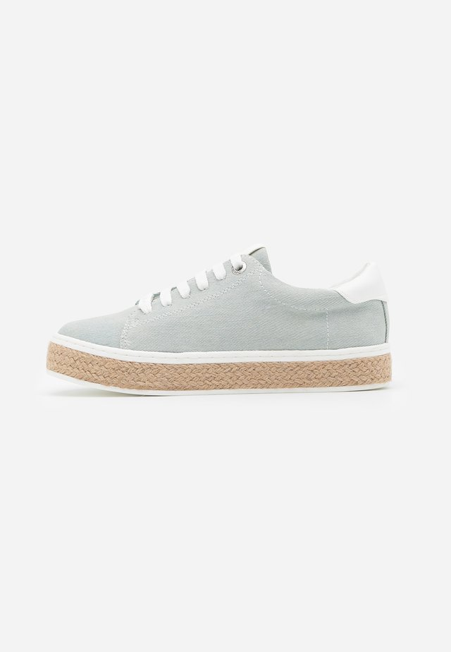 FLORA - Espadrilles - light blue