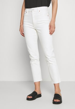 CHEEKY STRAIGHT COLOR - Jeansy Straight Leg - ecru