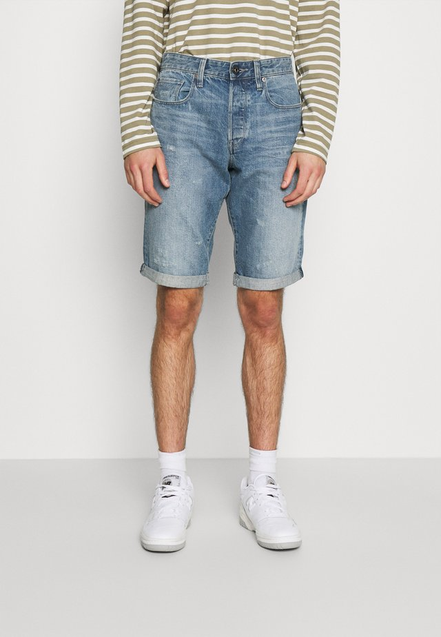 Shorts di jeans - sun faded ice fog