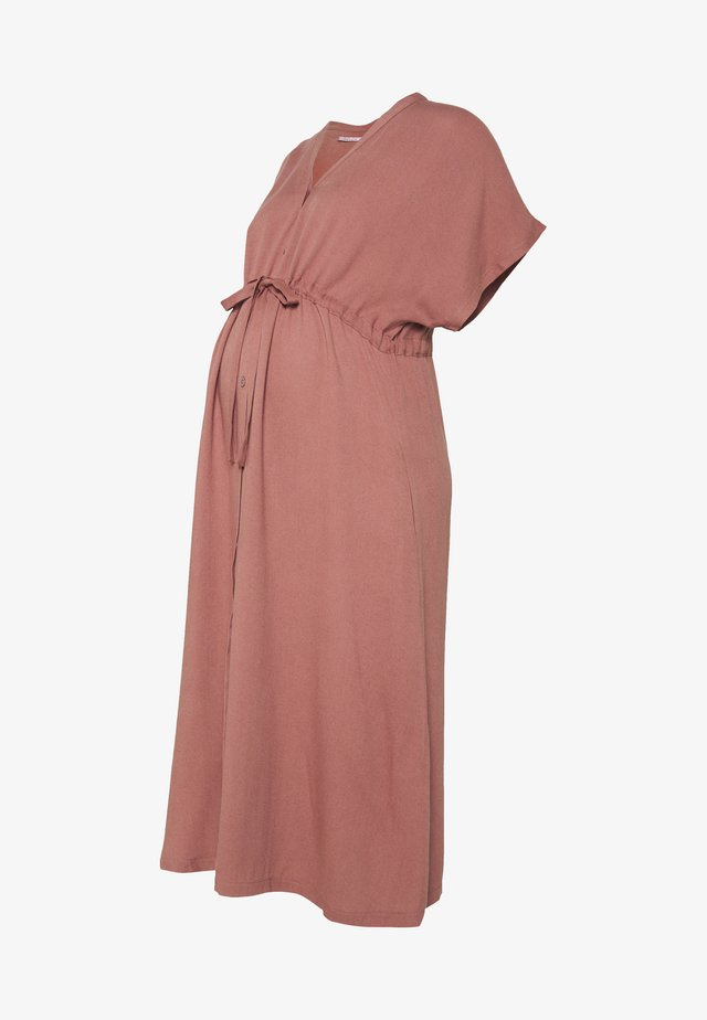 DRESS NOSTALGIA - Robe chemise - marsala
