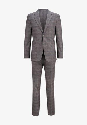 SET - Suit - dark grey melange