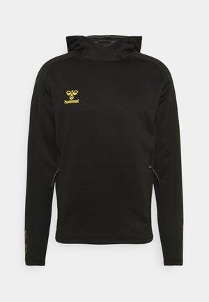 HMLCIMA HOODIE - Sweater - black
