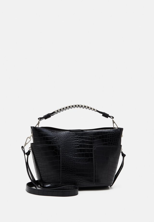VIOLAA SHOULDERBAG - Handtasche - black