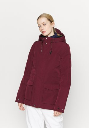 WANDERLUST JACKET - Snowboardjacke - windsor wine