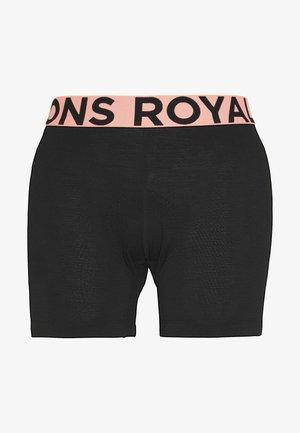 ROYALE CHAMOIS SHORTS - Collants - black