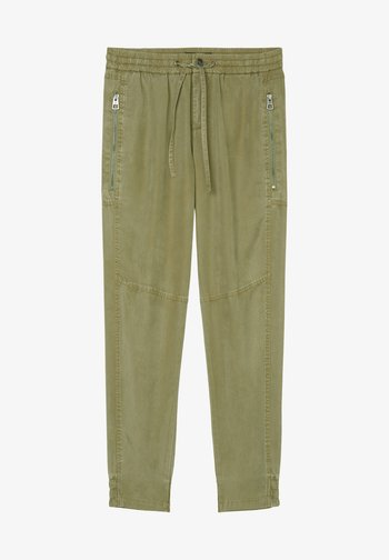 Tracksuit bottoms - light green