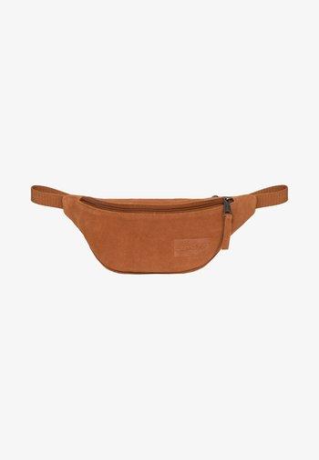 SPRINGER - Bum bag - camel suede