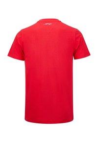 Ed Hardy - TIGER LOS T-SHIRT - Print T-shirt - red - 6