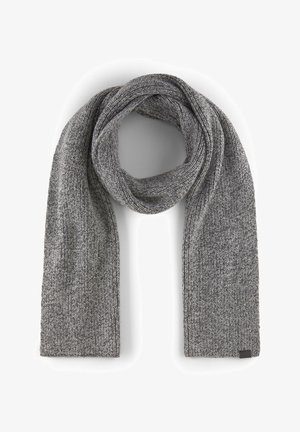 Scarf - grey multi nep yarn