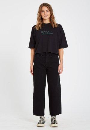 WEELLOW - Straight leg jeans - black