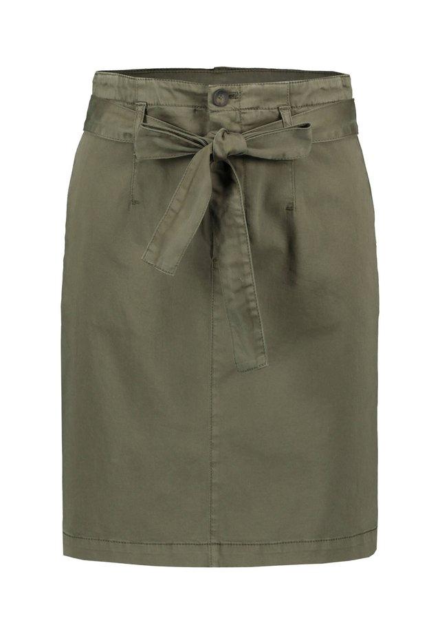 BOSS DAMEN ROCK - A-line skirt - camel (22)