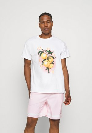 HAVANA ORANGES REGULAR - T-shirt imprimé - white