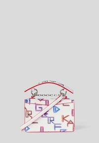 KARL LAGERFELD - SEVEN TETRIS - Handbag - white mult - 1