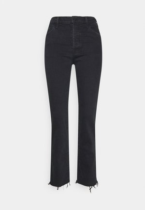 THE SCRAPPER CUFF ANKLE FRAY - Slim fit jeans - faded black