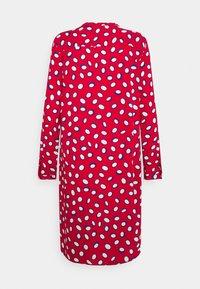 Emily van den Bergh - Abito a camicia - red/white - 1