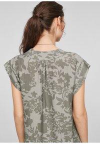 s.Oliver - Day dress - khaki aop - 4