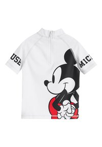 Next - RED MICKEY MOUSE RASH VEST AND SHORTS SET (3MTHS-8YRS) - Short de bain - red - 2