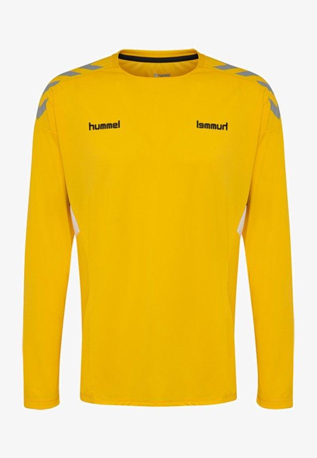 TECH MOVE - Bluzka z długim rękawem - sports yellow