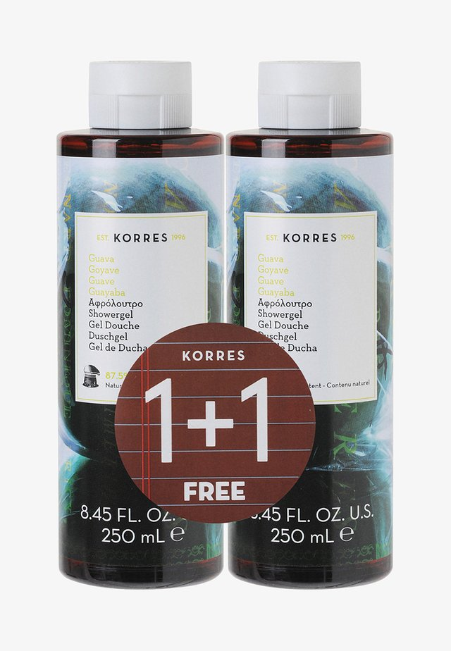 GUAVA 1+1 SHOWER GEL SET - Bath and body set - -