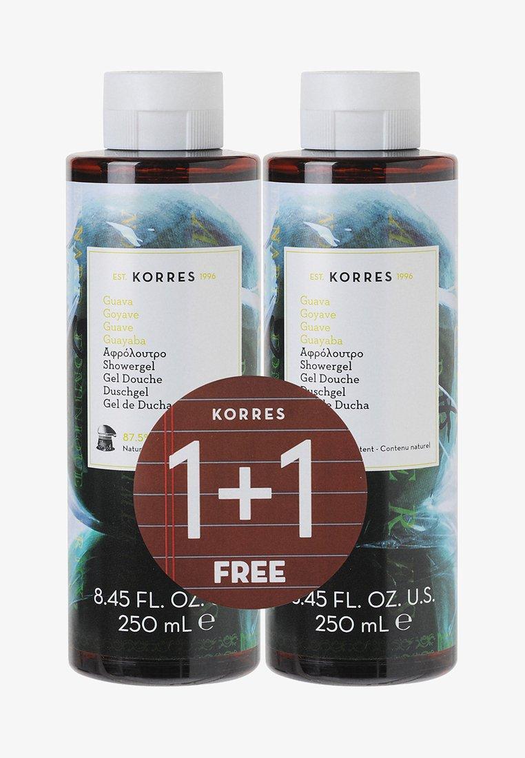Korres - GUAVA 1+1 SHOWER GEL SET - Bath and body set - -