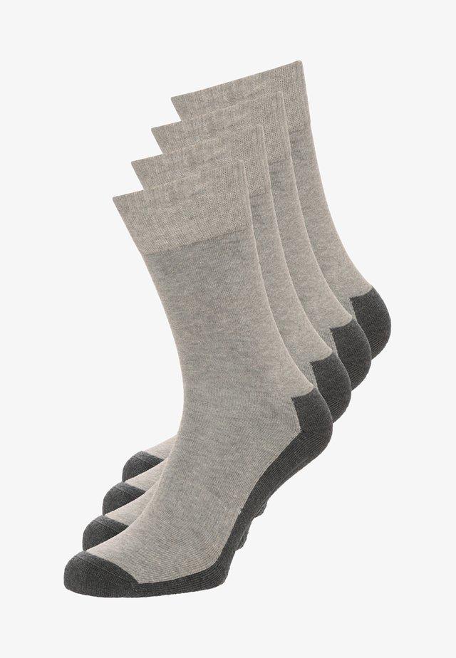 4 PACK - Sportsocken - grey