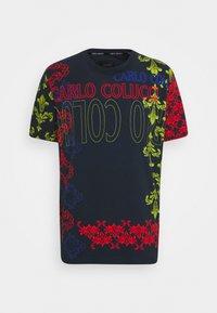 Carlo Colucci - UNISEX - Print T-shirt - navy - 4