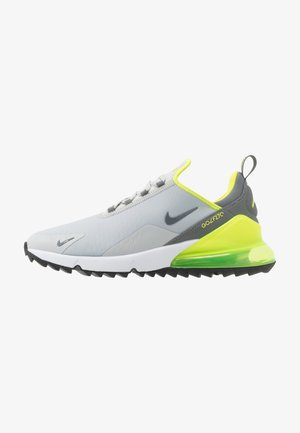 AIR MAX 270 G - Obuwie do golfa - grey fog/smoke grey/white/black