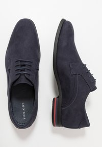 Pier One - Smart lace-ups - dark blue