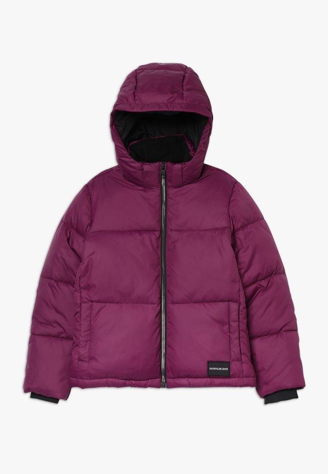ESSENTIAL PUFFER JACKET - Kurtka zimowa - purple