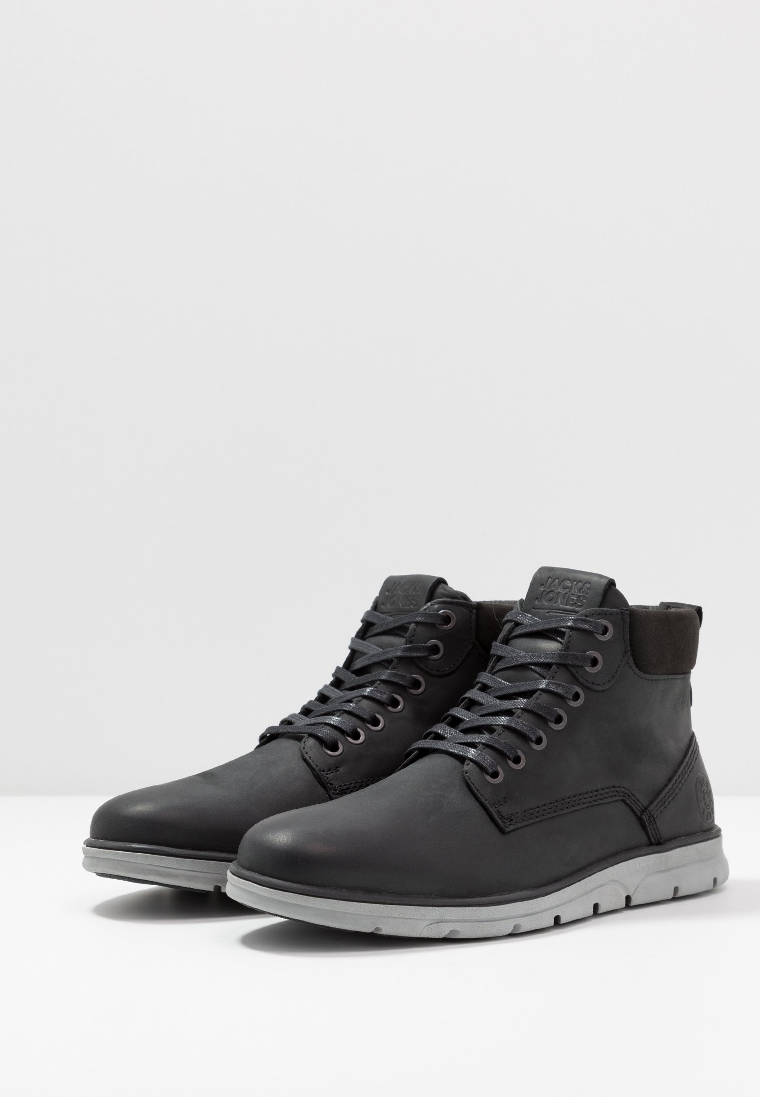 2013 Cheapest Jack & Jones JFWTUBAR - Lace-up ankle boots - anthracite | men's shoes 2020 9OZZO