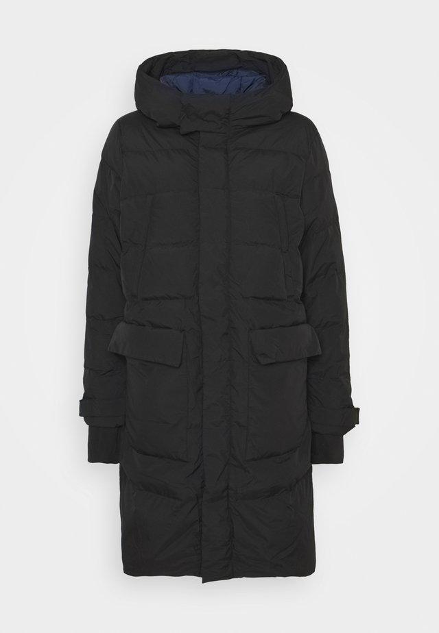 OUTERWEAR LONG - Down coat - black