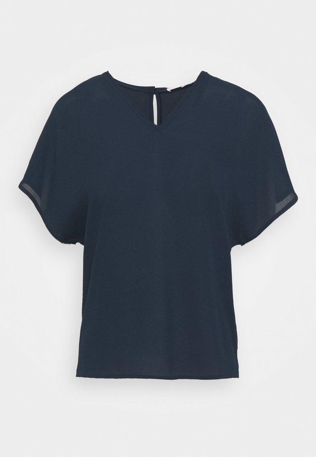 EMERY - Jednoduché triko - dark blue