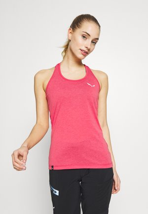 AGNER HYBRID DRI TANK - Sports shirt - virtual pink