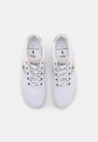Polo Ralph Lauren - HANFORD - Sneakers laag - white/college grey - 3