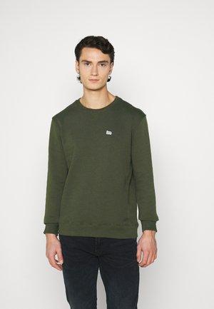 PLAIN CREW - Sweatshirt - serpico green
