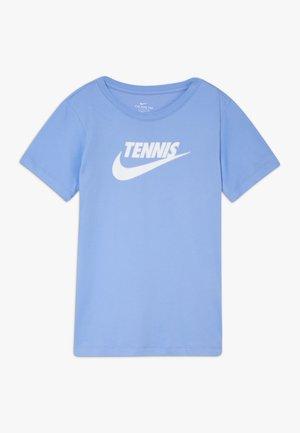 TEE TENNIS - Triko spotiskem - royal pulse/white